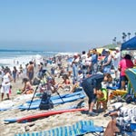 SurfPaws Contest in Huntington Beach, CA 2009
